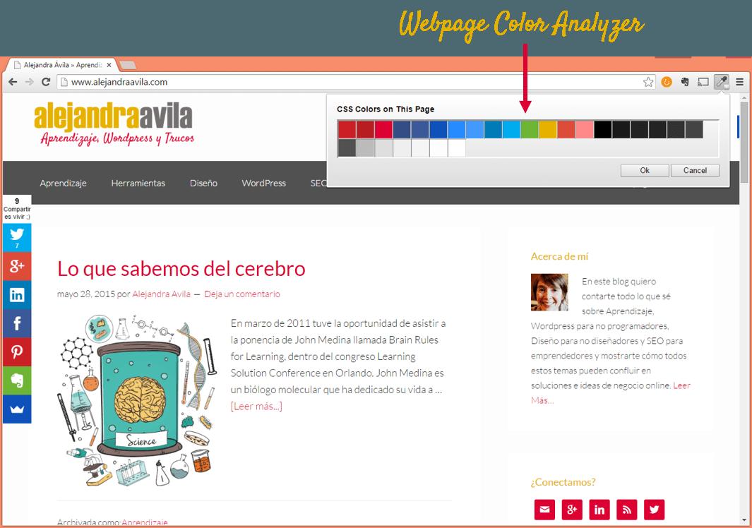 Colorzilla online - Como Elegir Paleta De Colores