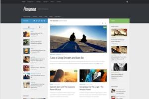 Los mejores themes gratuitos de WordPress: Hueman