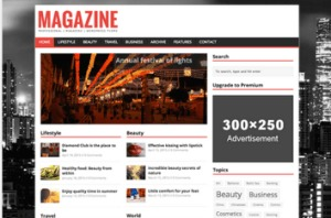Los mejores themes gratuitos de WordPress: MH Magazine Lite