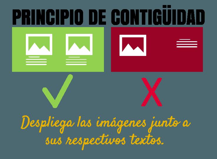 11 principios de aprendizaje multimedia: contiguidad