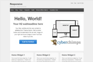 Los mejores themes gratuitos de WordPress: Responsive