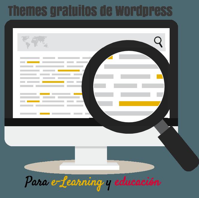 Los mejores themes gratuitos de Wordpress para e-Learning y educación
