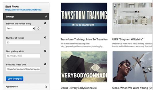 los mejores plugins de wordpress para blogs educativos: vimeography