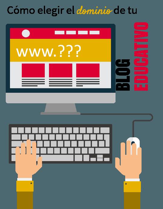 cómo elegir el dominio de tu blog educativo